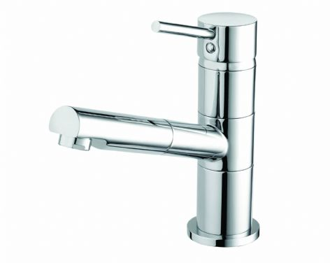 Almond Professional Sink Mixer with Pull Out Handset